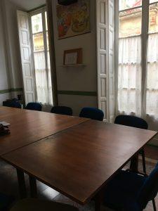 Klaslokaal in Malaga